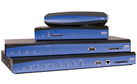 Stacked ADTRAN NetVanta Routers