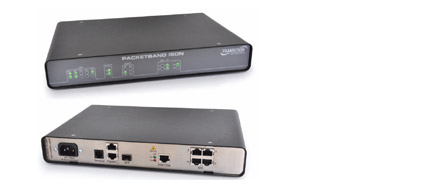 PacketBand ISDN Front and Rear View