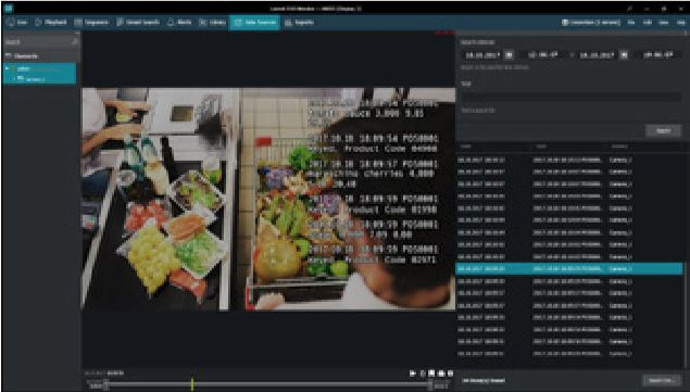 Luxriot Video Managment Software - POS - Surveillance - Recognition